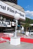 国际影片Fe的开幕式的准备 免版税库存图片
