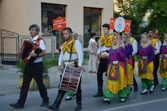 10国际性组织民间传说节日Lukavac 2016年 库存图片