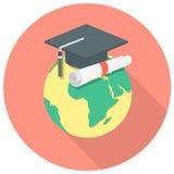 国际教育概念 向量例证