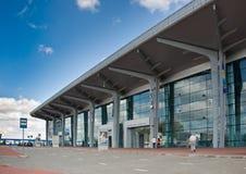 国际机场哈尔科夫,全景 免版税图库摄影
