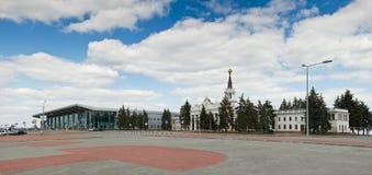 国际机场哈尔科夫 免版税库存照片