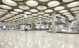 国际机场行李传送带要求区域 没人 旅行ba 库存图片