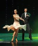 国际标准舞蹈这奥地利的世界舞蹈 库存图片