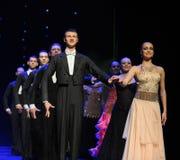 国际标准舞蹈这奥地利的世界舞蹈 免版税库存照片
