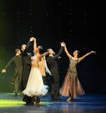 国际标准舞蹈这奥地利的世界舞蹈 图库摄影