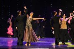 国际标准舞蹈这奥地利的世界舞蹈 免版税图库摄影