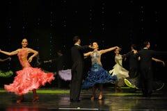 国际标准舞蹈这奥地利的世界舞蹈 免版税库存图片