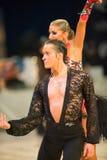 国际比赛舞蹈掌握2010年 免版税库存照片
