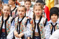 国际民间舞节日在阿马西亚 图库摄影