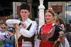 国际民间传说节日, 2017年 萨格勒布,克罗地亚, 114 免版税库存图片