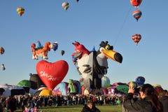 国际气球节日2016年在亚伯科基 免版税图库摄影