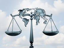 国际法 库存例证