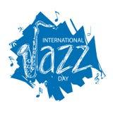 国际爵士乐天 免版税库存照片