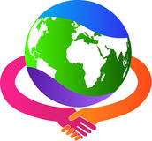 国际生意 免版税库存照片