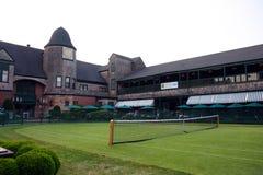 国际网球名人堂,纽波特,罗德岛州 免版税库存照片