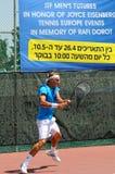 国际网球欧洲比赛 免版税图库摄影