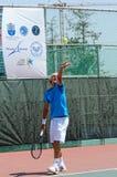 国际网球欧洲比赛 免版税库存图片