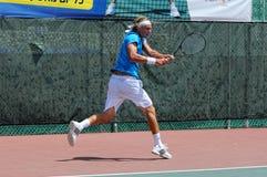 国际网球欧洲比赛 库存照片