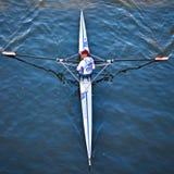 国际耐力赛船会SilverSkiff 库存图片