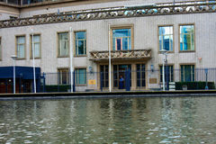 国际联合国法庭在战争罪的海牙在 图库摄影