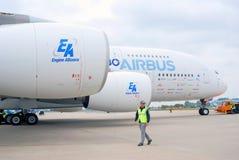 国际航空航天沙龙MAKS-2013 图库摄影