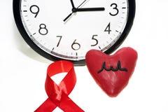 国际艾滋病天摘要照片 免版税图库摄影