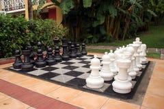 国际象棋棋局 免版税库存照片