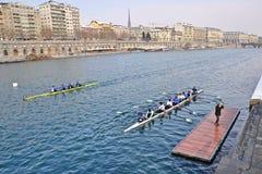 国际赛船会划船都灵 免版税库存照片