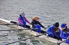 国际赛船会划船都灵 免版税图库摄影
