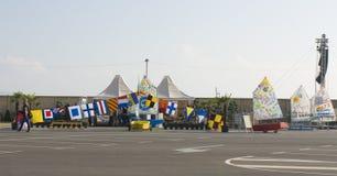 国际赛船会,瓦尔纳,保加利亚 图库摄影