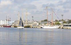 国际赛船会,瓦尔纳,保加利亚 库存图片