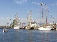 国际赛船会,瓦尔纳,保加利亚 免版税库存照片