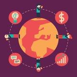 国际通信 免版税库存图片