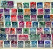国际邮票 免版税图库摄影