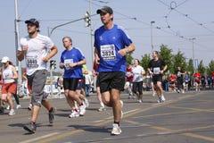 国际马拉松布拉格 免版税图库摄影
