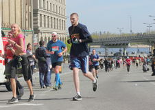 国际马拉松 库存图片