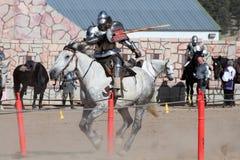 国际马背射击的竞争 免版税图库摄影