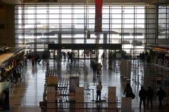 国际离开LAX 免版税图库摄影