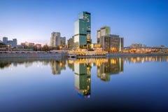 国际贸易中心在莫斯科 库存图片