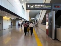 国际终端在成田机场 库存图片
