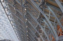 国际pancras铁路st岗位 库存照片