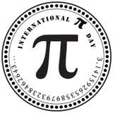 国际Pi天 免版税库存照片