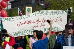 国际Workers'天 2016年5月1日,柏林,德国 图库摄影