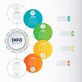 图、信息图表、mindmap或者图的网模板 Busin 向量例证