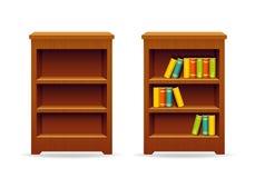 图书馆书橱教育和知识 库存图片