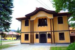 图书馆和守旧派Koprivshtitsa保加利亚 库存照片