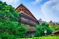 图书馆在台北 库存照片