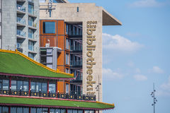 图书馆在市阿姆斯特丹 库存图片