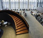 图书馆在曼谷 免版税库存照片