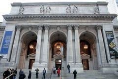 图书馆在纽约 库存照片